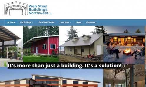 Web Steel Buildings NW